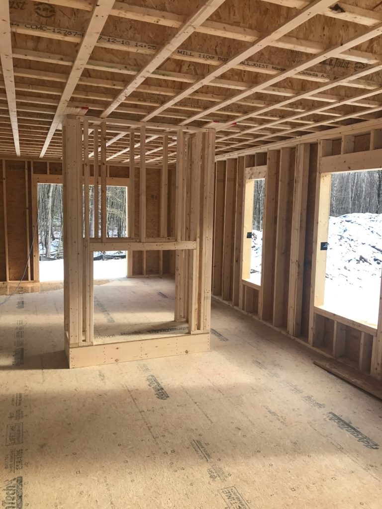 Saving costs when building a house