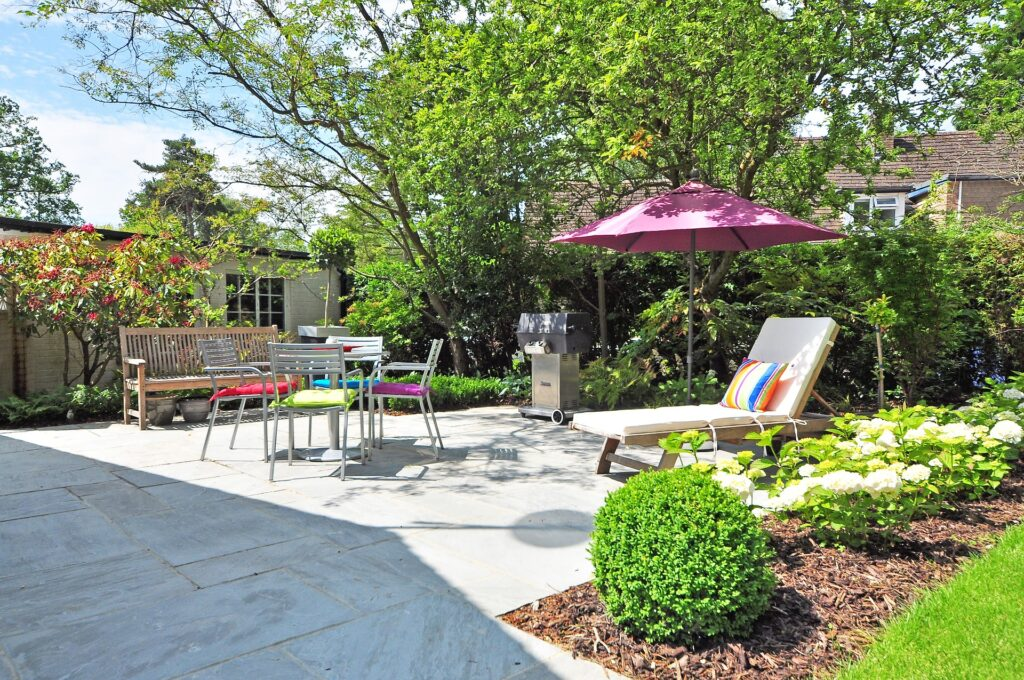 Outdoor space in your new home