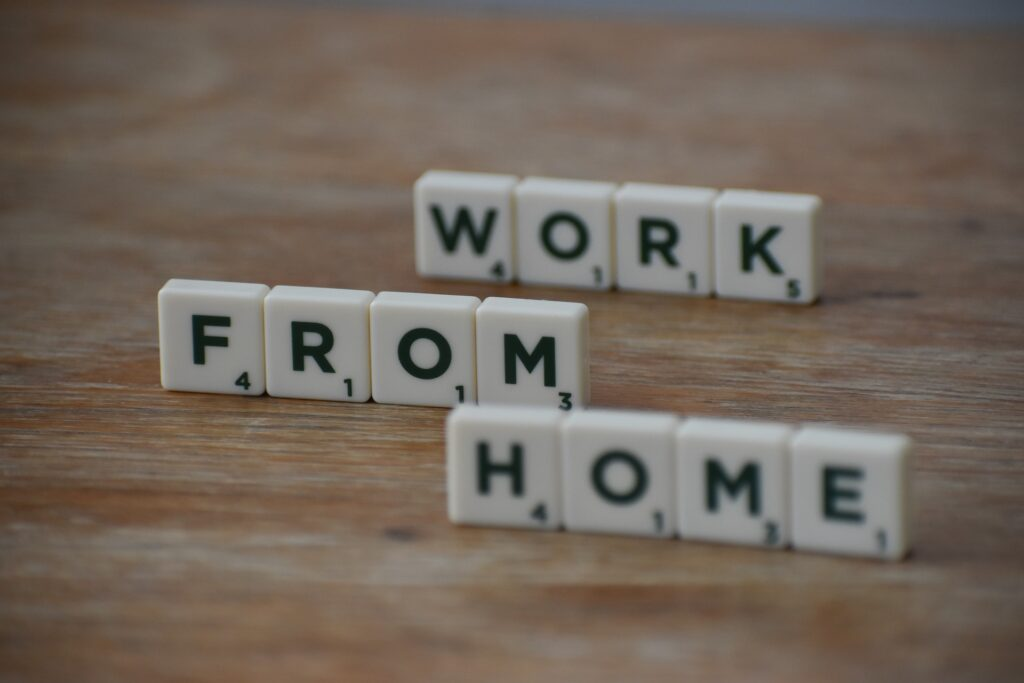 New Home with place to work from home